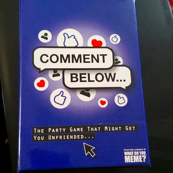 Commen Below Party Game